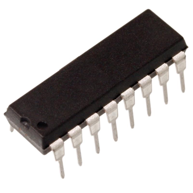 MCP3008-I-P-A-D-Wandler-10Bit-seriell-8-Kanal-SPI-Interface-DIP16-von-Microchip
