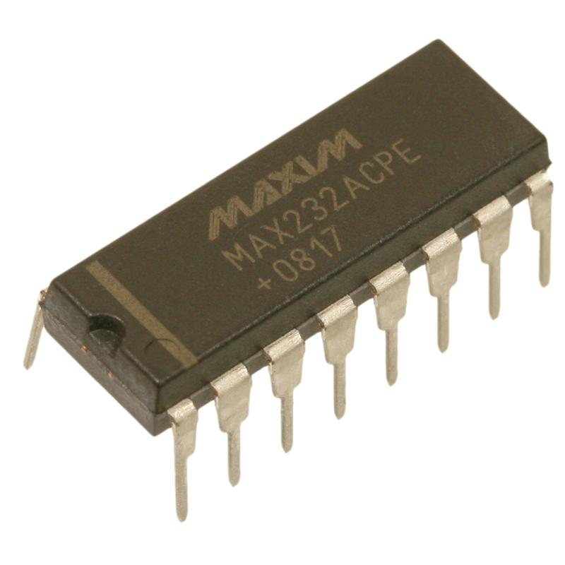 MAX232ACPE-RS232-Sender-Empfaenger-DIP16-MAXIM-Integrated