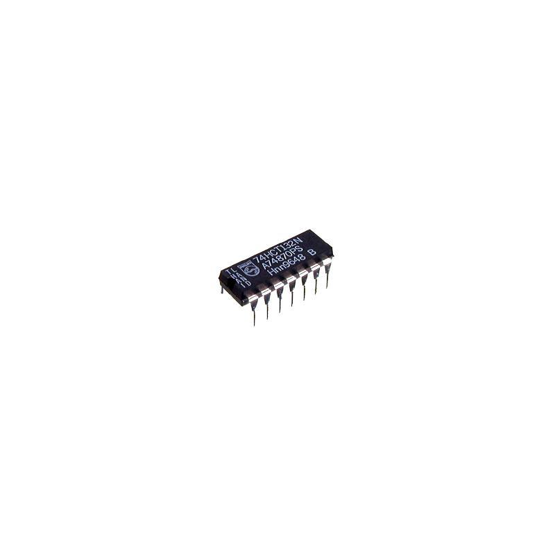 74HCT132 NAND-Schmitt-Trigger 4-fach DIP14