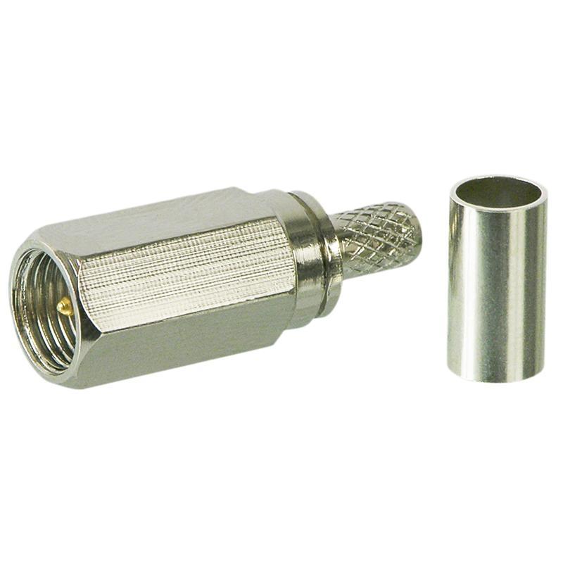 FME-Kupplung Crimpversion für RG58//U-Kabel