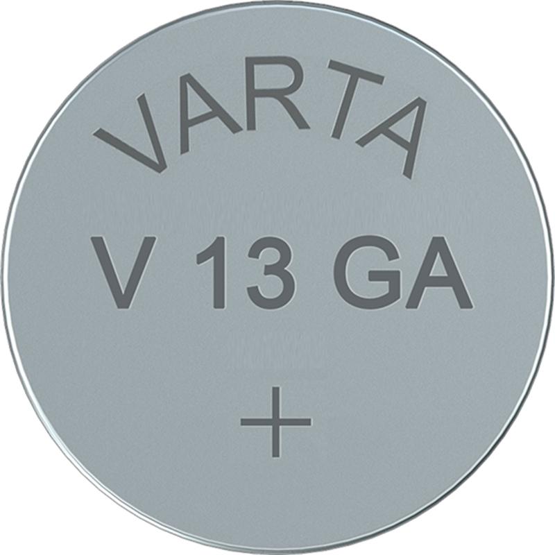 10x-V13GA-VARTA-Knopfzelle-LR44-AG13-13GA-V76PX-SR44