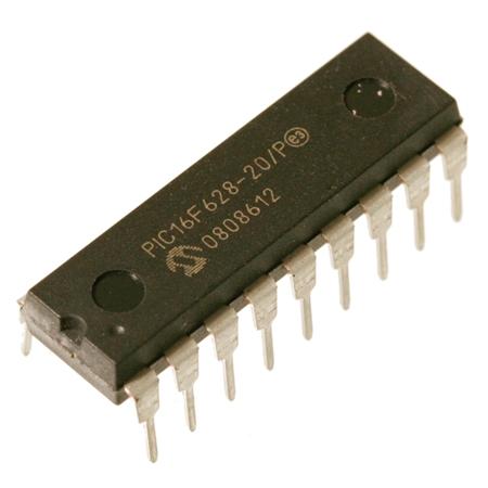 PIC16F684-I//P 8-Bit-Microcontroller 20MHz 2048x14 Bit FLASH 12 I//O DIP14